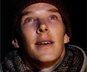 actor, benedict cumberbatch, and funny face image