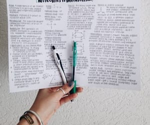 notes, studying, and studyblr image