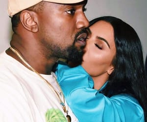kayne, celebrity couples, and kim k image