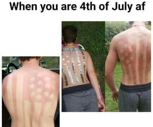 4th of july, meme, and america image