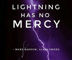 lightning, quote, and glass sword image