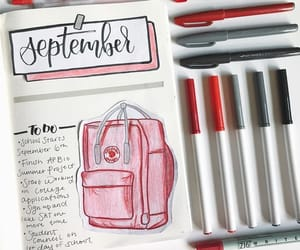 school, bujo, and bullet journal image