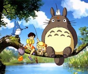 anime, totoro, and studio ghibli image