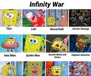 Marvel, memes, and infinity war image