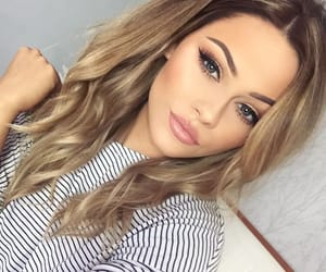 beautiful, makeup, and higlights image