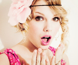 Taylor Swift, flowers, and beauty image