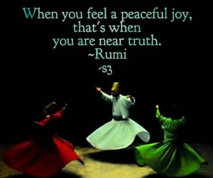 quote, quotes, and Rumi image