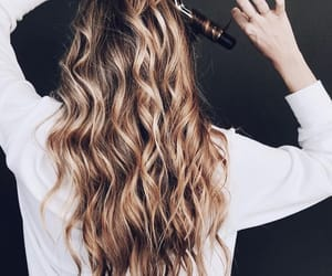 curls, hair, and inspo image