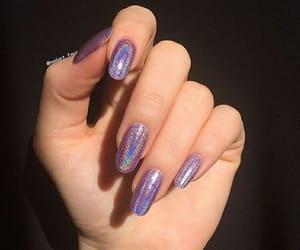 glitter, nail, and nails image