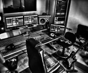 music studio, music production, and music mixing image