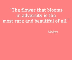 disney, flower, and quote image