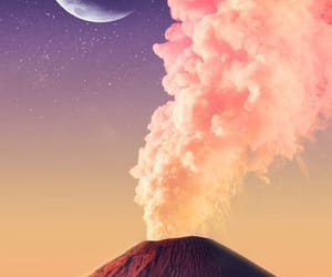 geology, moon, and volcano image