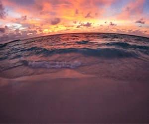 gif, beach, and sea image
