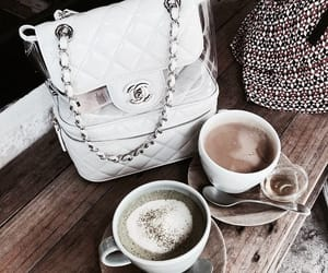 coffee, drink, and chanel image