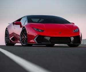 car, italian, and red image