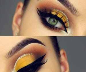 eyelashes, eyeshadow, and style image