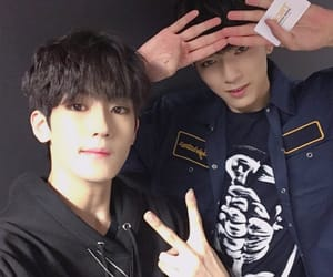 hakmin, wooyeop, and trcng image