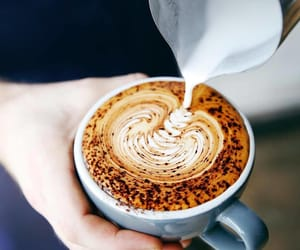 cappuccino, latte, and coffee image