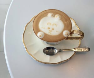 coffee, aesthetic, and soft image