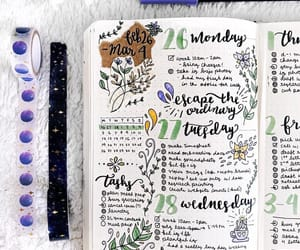 bullet journal and diary image