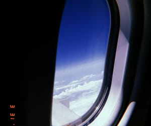 adventure, airplane, and cloud image