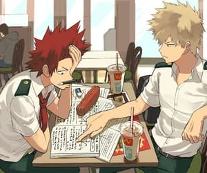 gay, eijirou, and bakugou image