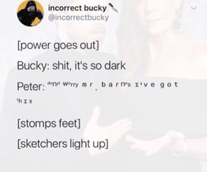 Avengers, peter parker, and bucky barnes image