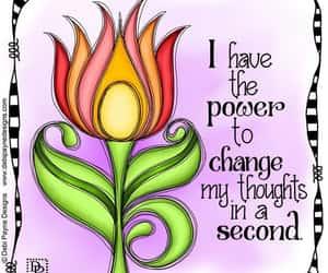 affirmation, reminder, and handlettering image