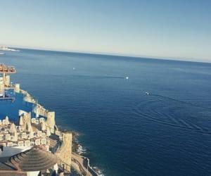 blue sea, canary islands, and skyline image