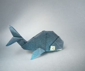 animal, beautiful, and origami image