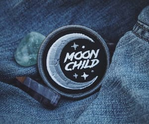 aesthetic, moon, and stars image