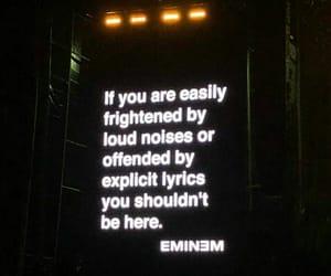 eminem, Lyrics, and quotes image