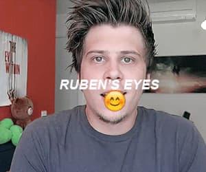 eyes, elrubius, and rubiuh image