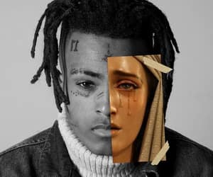 art, famous, and xxxtentacion image