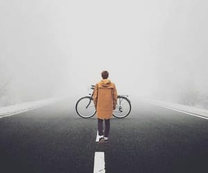 bicycle, photography, and white image