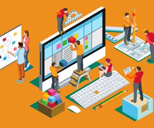 web design company and website design in lucknow image