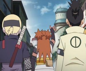 anime, hidden leaf, and chou chou image
