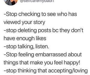 true, real talk, and self care image