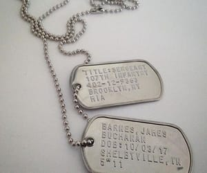 captain america, aesthetic, and dog tags image