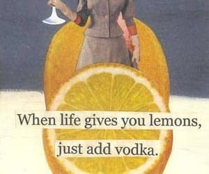 vodka, lemon, and life image