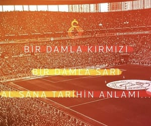 galatasaray, red, and yellow image