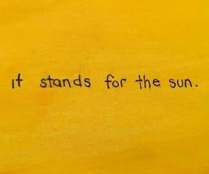 sun and yellow image