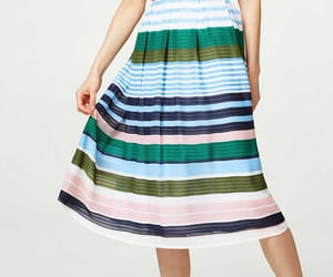 esprit, skirt, and stripes image
