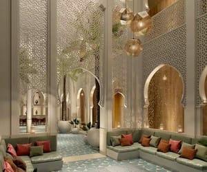 interior, luxury, and hotel image