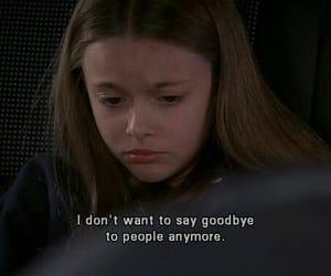 goodbye, sad, and quotes image