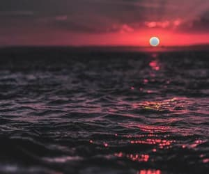 sunset and sun image