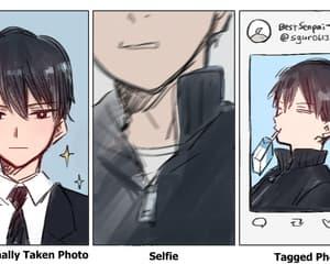 anime, fan art, and kageyama tobio image