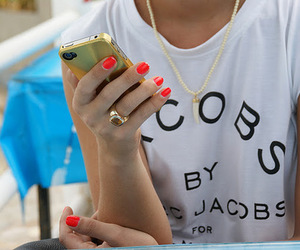 fashion, marc jacobs, and nails image