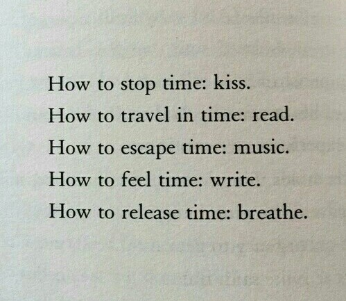 quotes, time, and breathe image