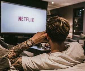 boy, tattoo, and tv image